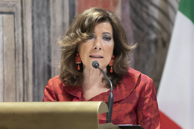 Presidenza del SenatIl presidente del Senato Maria Elisabetta Alberti Casellati ha inviato una lettera per commemorare il crollo di via Canosa