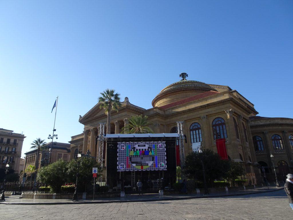 Il Teatro Massimo di Palermo è bellissimo