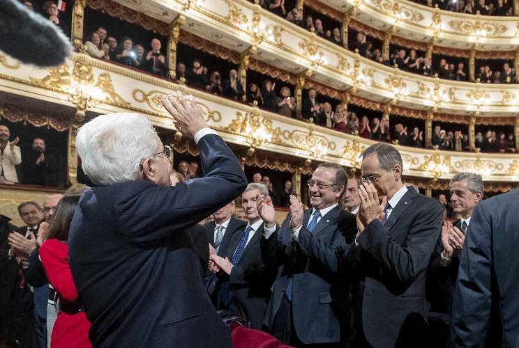 Il presidente della Repubblica Sergio Mattarella ha aperto le celebrazioni di Parma Capitale Italiana della Cultura 2020