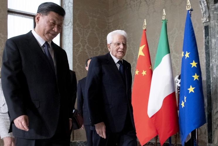 Il presidente della Repubblica Sergio Mattarella solidale con il popolo cinese